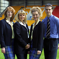 St Johnstone FC photocall season 2001/02<br />