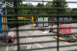 A closed waste recycling centre in Harringay, north London.  Picture date: Sunday May 10, 2020. Photo credit should read: Matt Crossick/Empics