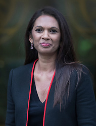 © Licensed to London News Pictures. 08/12/2016. London, UK. GINA MILLER arrives at the Supreme Court in Westminster, London for the last day of a hearing to appeal against a November 3 High Court ruling that Article 50 cannot be triggered without a vote in Parliament. Photo credit: Peter Macdiarmid/LNP