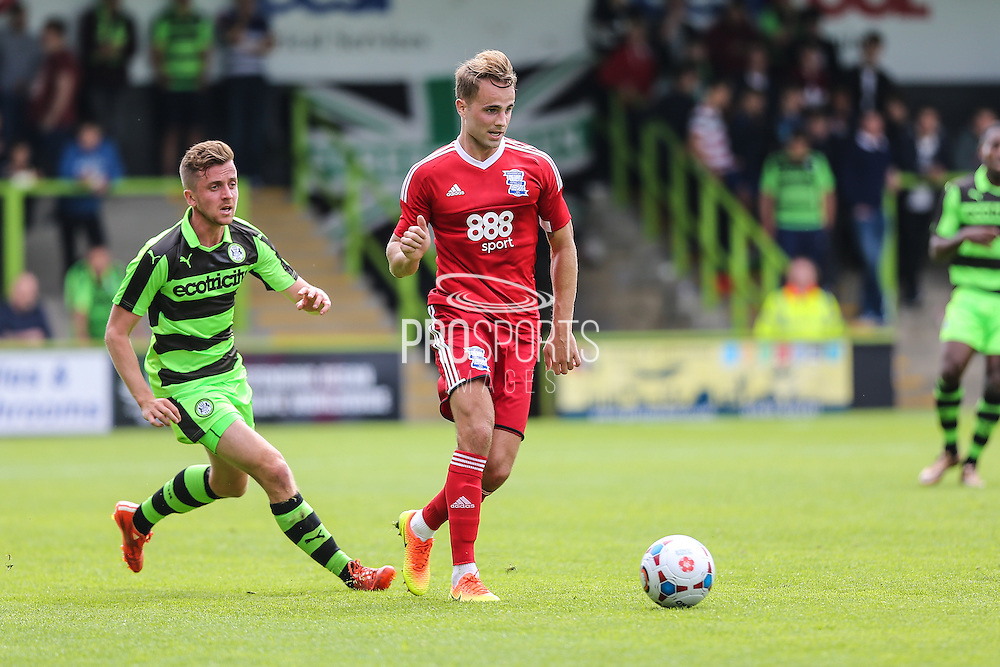Birmingham Citys Andrew Shinnie during the Pre-Season Friendly match between Forest Green Rovers and Birmingham City at the New Lawn, Forest Green, United Kingdom on 16 July 2016. Photo by Shane Healey.