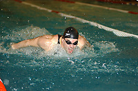 NM svømming senior/05032004/ Grottebadet i Harstad/ Allan Jørgensen/100m butterfly herrer FINALE<br /> FOTO: KAJA BAARDSEN/DIGITALSPORT