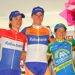 Sportfoto archief 2012<br /> Annemiek van Vleuten wint in Valkenburg de Hill Classic voor Marianne Vos en Sharon Laws