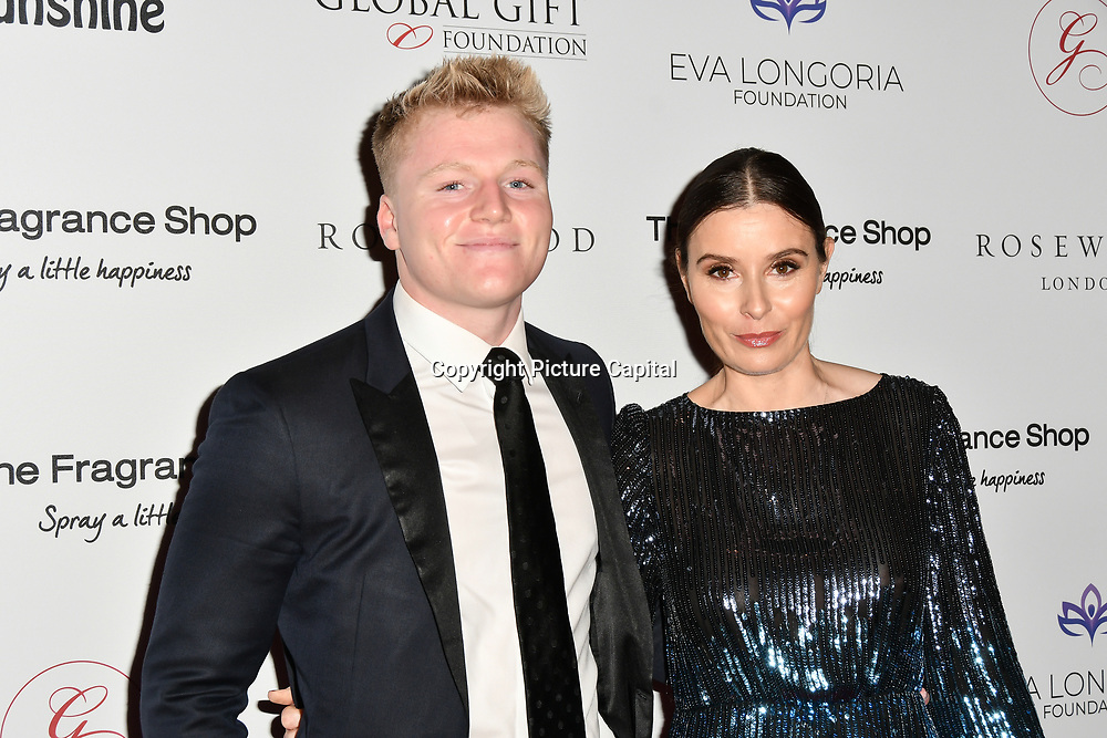 Jack Ramsay,Tana Ramsay Arrivers at The Global Gift Gala red carpet - Eva Longoria hosts annual fundraiser in aid of Rays Of Sunshine, Eva Longoria Foundation and Global Gift Foundation on 2 November 2018 at The Rosewood Hotel, London, UK. Credit: Picture Capital