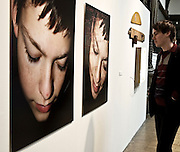 C-type photographic prints and a cotton thread, 70 x 100 cm, variable limited editions of 7, 2006<br /> <br /> It&acute;s about hat fragile period, puberty.  This unfathomable age, or the atmosphere that it brings.  I like the doubt that an adolescent person brings into the work.  Is it a shy teenager, insecure about herself, or fully aware of her body and in deliberate way, enjoying the attention?