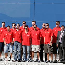 20050913: Basketball - Slovenian National Team before Belgrade 2005