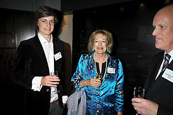 LADY ANTONIA FRASER and  THOMAS FRASER at the launch of the Imperial War Museum's 70th anniversary commemorating the outbreak of World War 11 held at the Cabinet War Rooms, Whitehall, London on 2nd September 2009.