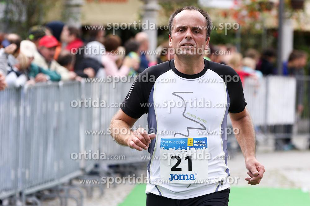 Satnko Rak competes during 3. Konjiski maraton / 3rd Marathon of Slovenske Konjice, on September 27, 2015 in Slovenske Konjice, Slovenia. Photo by Urban Urbanc / Sportida