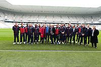 Equipe de Bordeaux - 23.03.2015 - Visite du Stade de Bordeaux -<br /> Photo : Caroline Blumberg / Icon Sport *** Local Caption ***