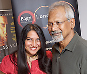 Mani Ratnam Screen Talk on-stage interview with the man attributed to revolutionising Tamil cinema and inspiring Bollywood. Interviewed by Peter Webber Girl with a Pearl Earring, Director at the BFI Southbank, London, Great Britain July 19th 2015 as part of the London Indian Film Festival programme. <br />