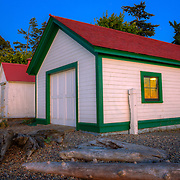 Browns Point lighthouse buildings - WA