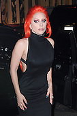 Lady Gaga Arriving at V Magazine Launch Party In New York