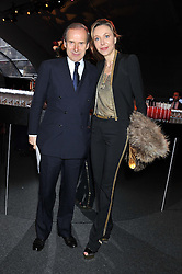 SIMON DE PURY and MICHAELA NEUMEISTER at the inaugural Gabrielle's Gala in London in aid of Gabrielle's Angel Foundation for Cancer Research held at Battersea Power Station, London on 7th June 2012.