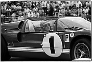 Sebring 12-Hour race &bull; March 26, 1966 &bull; Ford GT-X1 #1 V8 P+5.0 &bull; <br /> winner - co-driver Lloyd Ruby &bull; at the hairpin turn
