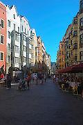 Austria, Innsbruck old city Herzog-Friedrich Strass