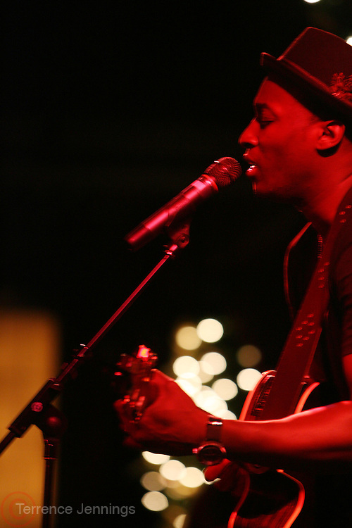 Jermaine Paul at Leela James Produced by Jill Newman Productions held at BB KINGS on December 30, 2008 in New York City..