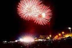 Festa de Ano Novo na Usina do Gasômetro, em Porto Alegre. FOTO: Emmanuel Denaui/ Preview.com
