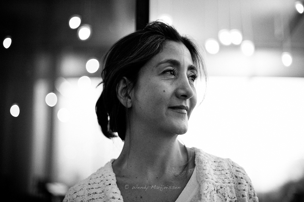 Ingrid Betancourt in Antwerp on a promotional tour for the book 'Even silence has an end' durin the book festival Mind the book. Kidnapped and taken hostage by the guerilla group Farc in 2002, she was freed after six years of living in captivity in the Colombian jungle.  Antwerp, Belgium, 2011