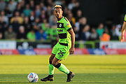 Forest Green Rovers Junior Mondal(25) during the EFL Sky Bet League 2 second leg Play Off match between Forest Green Rovers and Tranmere Rovers at the New Lawn, Forest Green, United Kingdom on 13 May 2019.