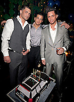 NEW YORK, NY - APRIL 13:  Frank Gotti Agnello; John Gotti Agnello and Carmine Agnello Jr. attend Frank Gotti's birthday celebration at Greenhouse on April 13, 2011 in New York City.  (Photo by Dave Kotinsky/Getty Images)