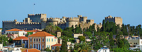 Grece, Dodecanese, Rhodes, ville de Rhodes, Unesco world heritage, la forteresse et le Palais des Grands Maitres // Greece, Dodecanese, Rhodes island, Rhodes city, Unesco word heritage, the Fortress and the Palace of Grand Masters