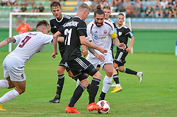 Luka Majcen of NK Triglav Kranj during football match between NS Mura and NK Triglav Kranj in 1st Round of Prva liga Telekom Slovenije 2018/19, on July 21, 2018 in Mestni stadion Fazanerija, Murska Sobota , Slovenia. Photo by Mario Horvat / Sportida