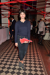 PIXIE GELDOF at the Tunnel of Love art and fashion auction and dinner in aid of the British Heart Foundation held at One Mayfair, London on 12th November 2013.