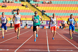 Jason Smyth, IRE competing in the T13 100m Finals at the Berlin 2018 World Para Athletics European Championships