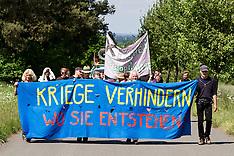 Demos gegen Rüstung