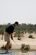 Abu Dhabi, United Arab Emirates (UAE). .March 20th 2009..Al Ghazal Golf Club..36th Abu Dhabi Men's Open Championship..Peter Shaw