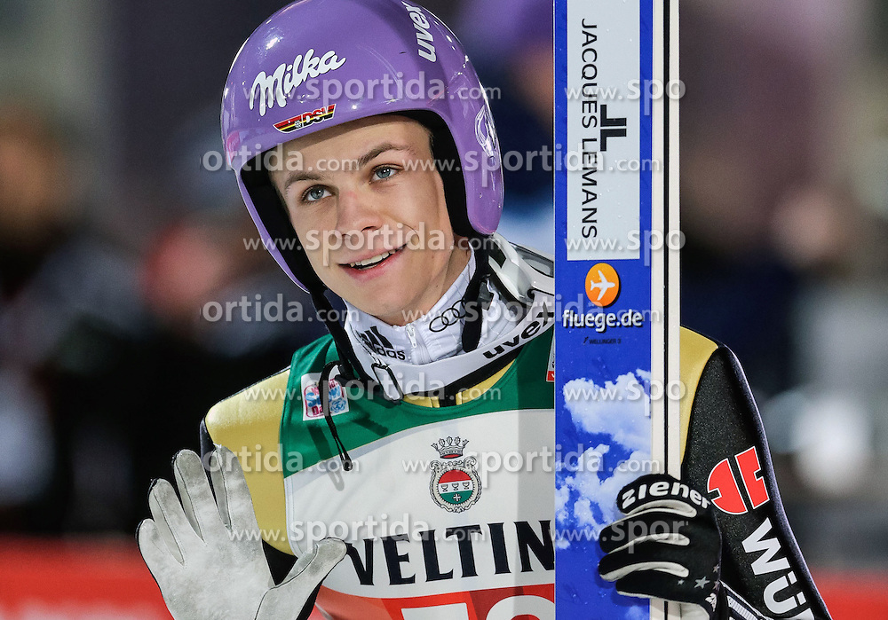 28.12.2015, Schattenbergschanze, Oberstdorf, GER, FIS Weltcup Ski Sprung, Vierschanzentournee, Qualifikation, im Bild Andreas Wellinger (GER) // Andreas Wellinger of Germany during his Qualification Jump for the Four Hills Tournament of FIS Ski Jumping World Cup at the Schattenbergschanze, Oberstdorf, Germany on 2015/12/28. EXPA Pictures © 2015, PhotoCredit: EXPA/ Peter Rinderer