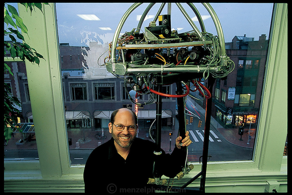 In 1980, Marc Raibert established the MIT Leg Lab, home to the first robots that dynamically mimic human walking; swinging like an inverted pendulum from step to step. Famously, Raibert even built a robot that could flip itself in an aerial somersault and land on its feet. In 1993, he left the field to found Boston Dynamics Inc., in Cambridge, MA, which translates his discoveries about humans and animals in motion, into animation. From the book Robo sapiens: Evolution of a New Species, page 142-143.