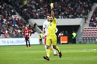 Sebastien DESAGE - 18.04.2015 - Nice / Paris Saint Germain - 33eme journee de Ligue 1<br />Photo : Serge Haouzi / Icon Sport