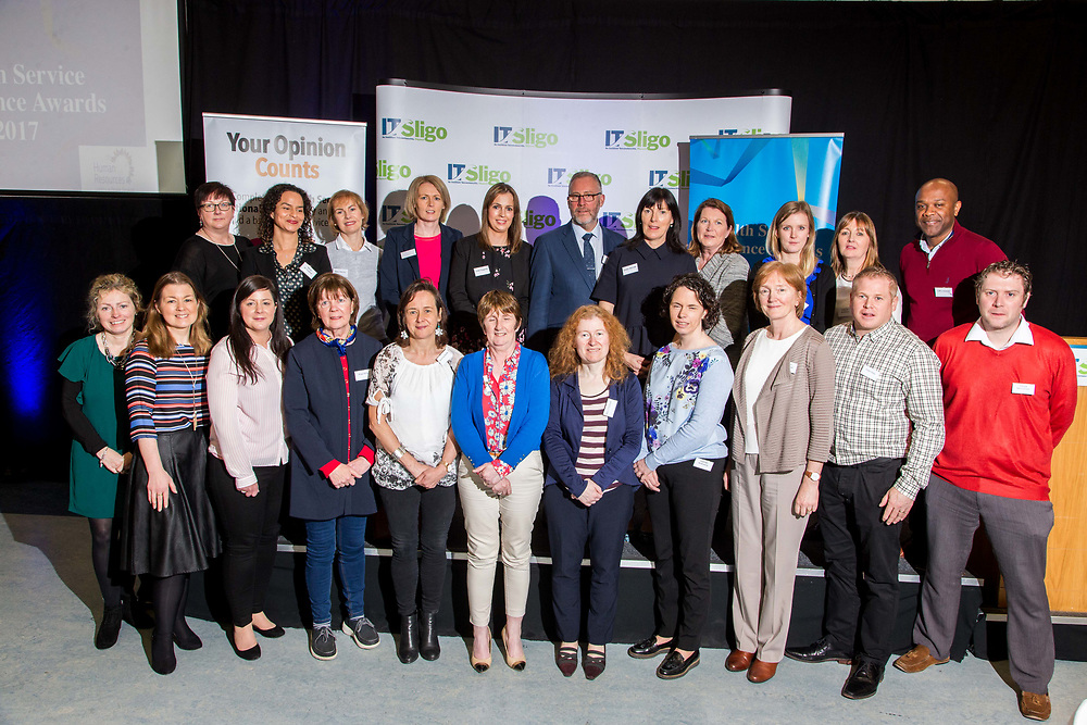 at the Health Excellence Awards 2017 Networking &amp; Showcase Event in Hume Hall, IT Sligo. <br /> Photo: James Connolly<br /> 01MAY18