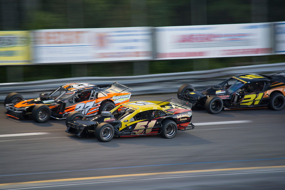 Lets go Racing:<br /> Sportsman Racing<br /> #27, Driven by Andrew Krause<br /> #51, Driven by Scott Brannick<br /> #31, Driven by Shannon Mongeau