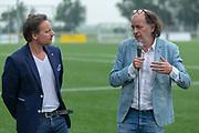 DRC Durgerdam. All Stars voetbaltoernooi. Op de foto: Cas Jansen en Jean van de Velde