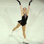 Gracie Gold is seen during the Smucker's Skating Spectacular at the TD Garden on January 12, 2014 in Boston, Massachusetts.