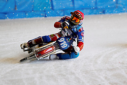 13.03.2016, Assen, BEL, FIM Eisspeedway Gladiators, Assen, im Bild Dmitry Khomitsevich (RUS) // during the Astana Expo FIM Ice Speedway Gladiators World Championship in Assen, Belgium on 2016/03/13. EXPA Pictures &copy; 2016, PhotoCredit: EXPA/ Eibner-Pressefoto/ Stiefel<br /> <br /> *****ATTENTION - OUT of GER*****