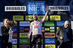 March 15, 2019 - Brignoles, France - BRIGNOLES, FRANCE - MARCH 15 : DE GENDT Thomas (BEL) of LOTTO SOUDAL pictured with the polka dot jersey during stage 6 of the 2019 Paris - Nice cycling race with start in Peynier and finish in Brignoles  (176,5 km) on March 15, 2019 in Brignoles, France, 15/03/2019 (Credit Image: © Panoramic via ZUMA Press)