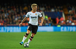 November 5, 2019, Valencia, Valencia, Spain: Daniel Wass of Valencia during the during the UEFA Champions League group H match between Valencia CF and Losc Lille at Estadio de Mestalla on November 5, 2019 in Valencia, Spain (Credit Image: © AFP7 via ZUMA Wire)