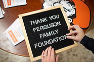 Thank You Ferguson Foundation