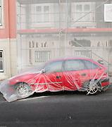 Portugal, Lisbon , parked car
