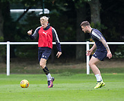 New boy Dundee new boy A-Jay Leitch-Smith during Dundee training at the University Grounds, Riverside, Dundee<br /> <br />  - &copy; David Young - www.davidyoungphoto.co.uk - email: davidyoungphoto@gmail.com
