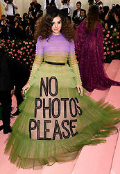 Hailee Steinfeld attending the Metropolitan Museum of Art Costume Institute Benefit Gala 2019 in New York, USA.