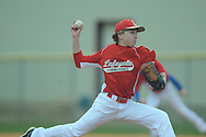 Lafayette Middle School's John Tate Roberts pitches  vs. Marshall County in Oxford, Miss. on Thursday, February 28, 2013.