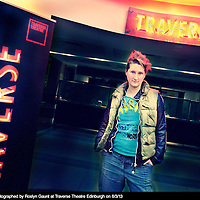 Bethan Marlow - Final Image for the Traverse Fifty<br /> 8th March 2013<br /> <br /> The Traverse Fifty was a collaboration between Writer Pictures and The Traverse Theatre to celebrate their 50th year. Fifty Writer Pictures photographers photographed fifty Traverse Writers.<br /> <br /> Photograph by Roslyn Gaunt/Writer Pictures<br /> <br /> WORLD RIGHTS