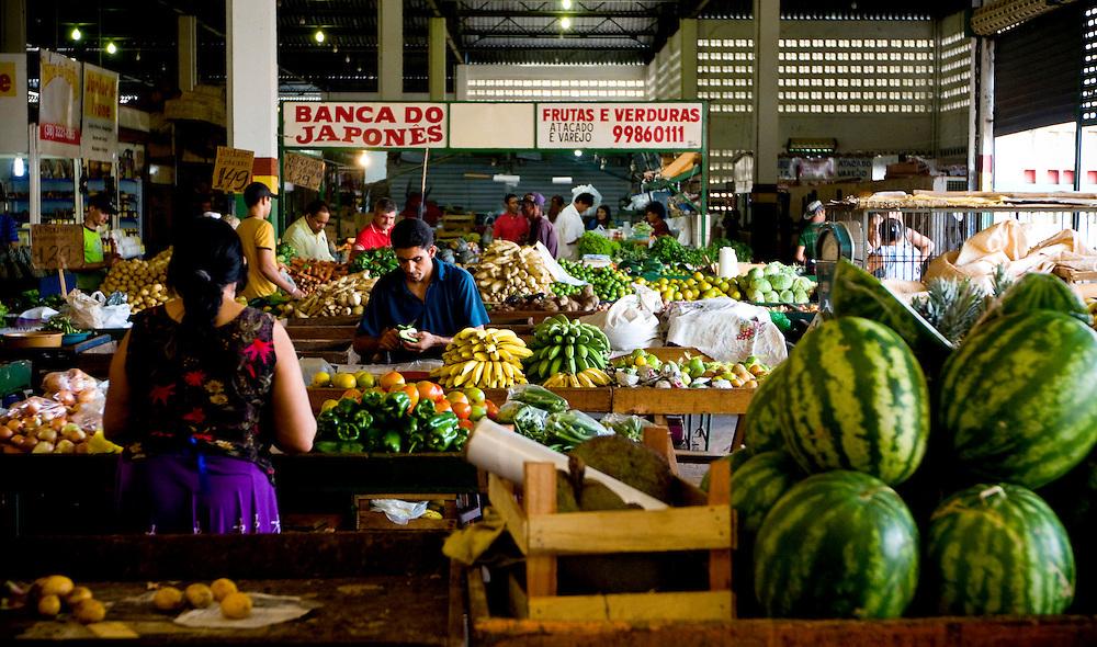 Montes Claros_MG, Brasil...Mercado Municipal de Montes Claros, Minas Gerais. ..Mercado Municipal (Municipal Market) in Montes Claros, Minas Gerais...Foto: NIDIN SANCHES / NITRO