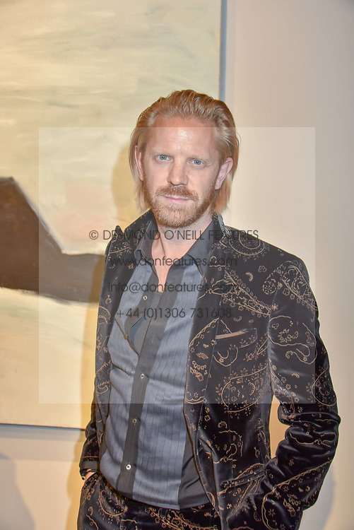 Alistair Guy at a VIP private view of 21st Century Women held at Unit London, Hanover Square, London England. 03 October 2018.