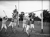 1952 - Dublin Senior Hurling team training at Parnell Park
