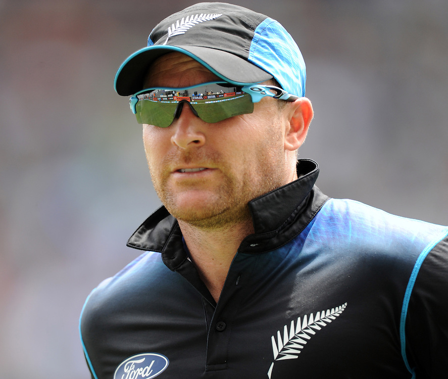 New Zealand's Brendon McCullum against Pakistan in the 3rd ODI International Cricket match at Eden Park, Auckland, New Zealand, Sunday, January 31, 2016. Credit:SNPA / Ross Setford