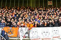 ALKMAAR - 02-02-2016, AZ - HHC, AFAS Stadion, HHC supporters.